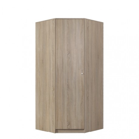 Rohová šatní skříň Optimo OP4