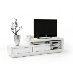 Televizní stolek Celia (Bílá)