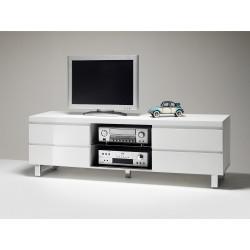 Televizní stolek SYDNEY (Bílá lesk)
