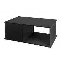 Konferenční stolek Gordia (Černá + Černá Lesk)