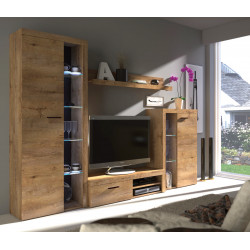 Obývací stěna RUMBA (Dub Sonoma)
