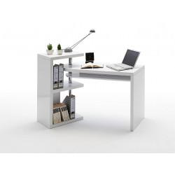 Psací stůl MATTIS (Bílý lesk)