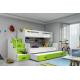 Patrová postel MAX 3 (Modrá)