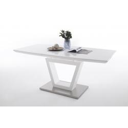 Rozkládací jídelní stůl NICOLO (Bílá)