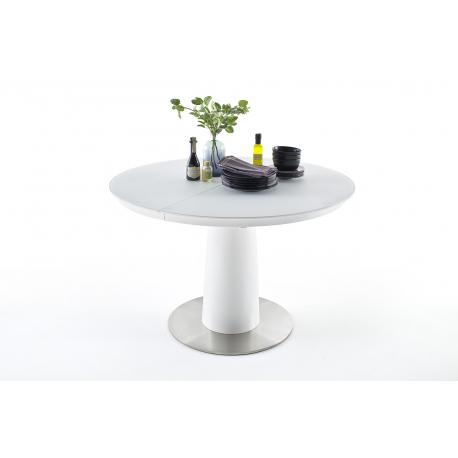 Rozkládací jídelní stůl WARIS (Bílá)