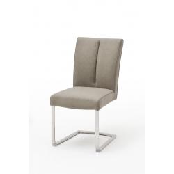 Jídelní židle BRASILIA B (Šedobéžová)