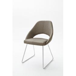 Jídelní židle DAJANA (Šedobéžová)