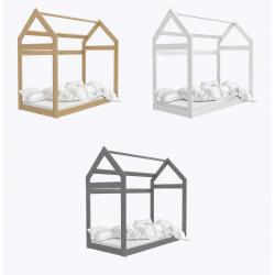 Dětská postel DOMEČEK (různé barvy)
