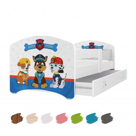 Dětská postel LUCKY s motivem PEJSCI