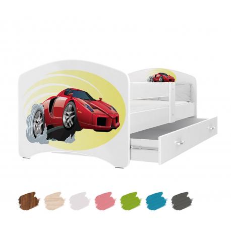 Dětská postel LUCKY s motivem FERRARI