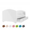 Dětská postel LUCKY včetně úložného prostoru (Bílá)