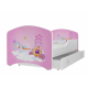 Dětská postel IGOR s motivem ZÁVODNÍ AUTO včetně úložného prostoru