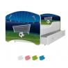 Dětská postel IGOR s motivem FOTBAL včetně úložného prostoru