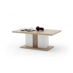 Konferenční stolek CALI (Bílá + Dub)