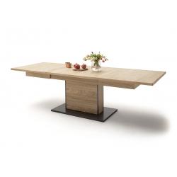 Rozkládací jídelní stůl CAMPINAS (Dub Bianco)