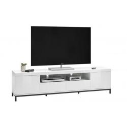 Televizní stolek GRENOBLE II (Bílá)