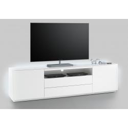 Televizní stolek MENTON II (Bílá)