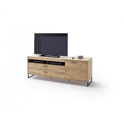 Televizní stolek PORTLAND I (Dub Bianco)