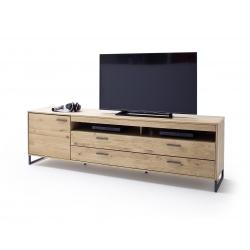 Televizní stolek PORTLAND II (Dub Bianco)