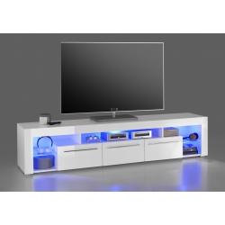 Televizní stolek GOL II (Bílá)
