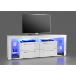 Televizní stolek GOL III (Bílá)