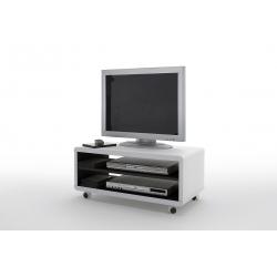 Televizní stolek JEFF I (Bílá + Černá)