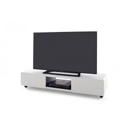 Televizní stolek JEFF III (Bílá + Černá)