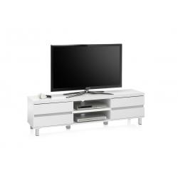 Televizní stolek MILOS (Bílá)