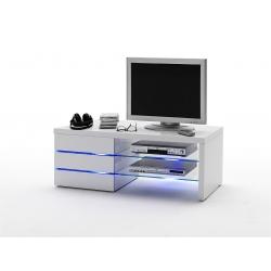 Televizní stolek SONIA (Bílá lesk)