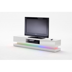 Televizní stolek STEP (Bílá lesk)