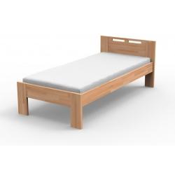 Jednolůžková postel NELA z masivu (Buk)