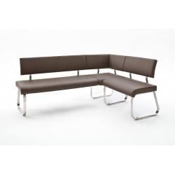 Rohová jídelní lavice ARCO I (Hnědá)