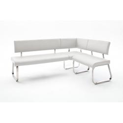 Rohová jídelní lavice ARCO II (Bílá)