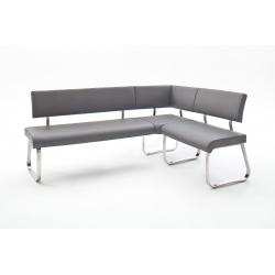 Rohová jídelní lavice ARCO II (Šedá)