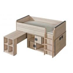 Patrová postel/palanda Gumi G19 (včetně matrace)